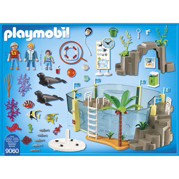 9060 - Aquarium marin - Playmobil Family fun