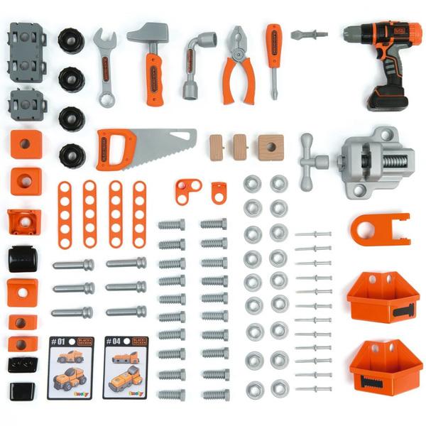 Etabli bricolo ultimate - black + decker - + 95 accessoires dont 1 perceuse mécanique