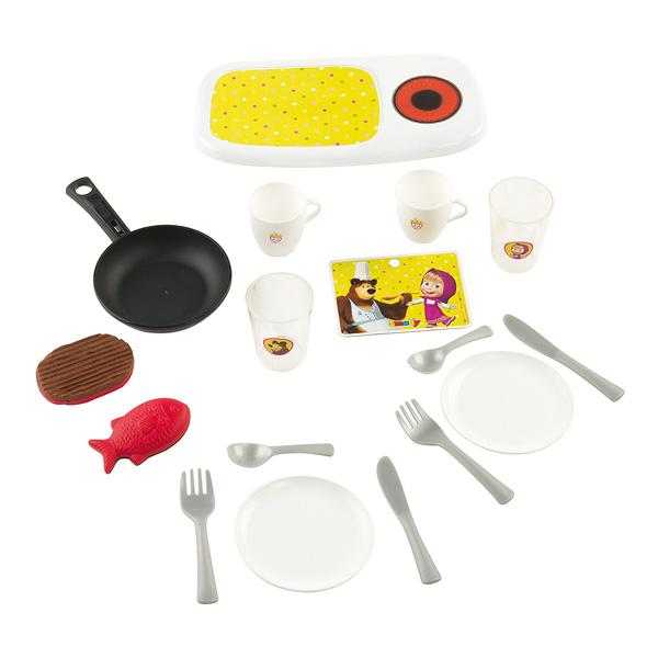 Mini Cuisine Masha & Michka  + 17 Accessoires