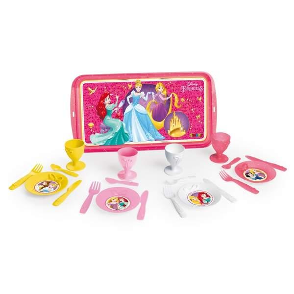 Disney princesses - plateau dinette - 21 accessoires