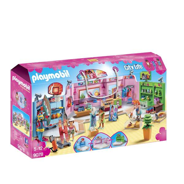 9078- Galerie marchande Playmobil City Life
