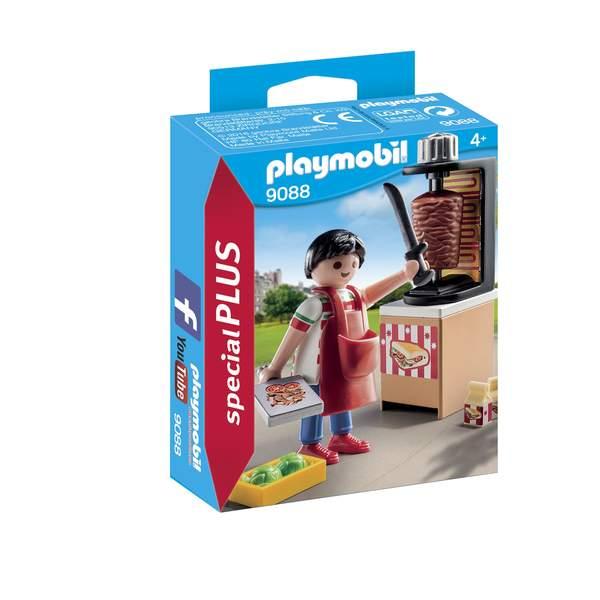 9088- Vendeur de kebab Playmobil City Life