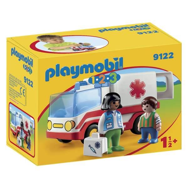 9122-Ambulance Playmobil 1.2.3
