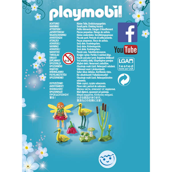 9138-Figurine fée avec cigognes Playmobil