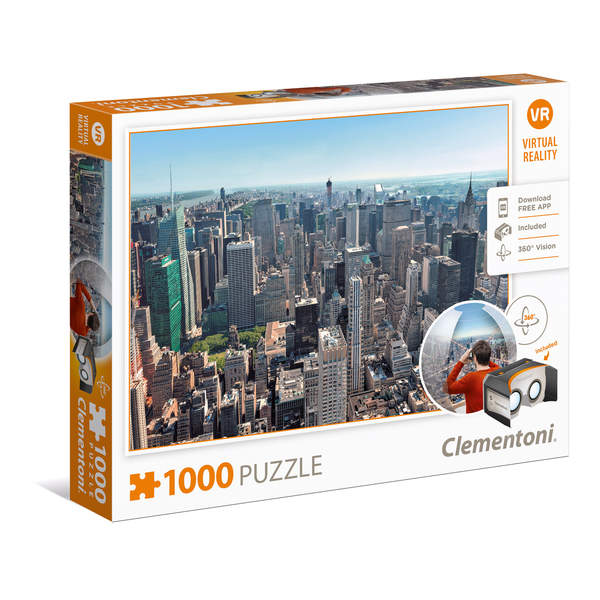 Puzzle Virtual Reality 1000 pièces New York