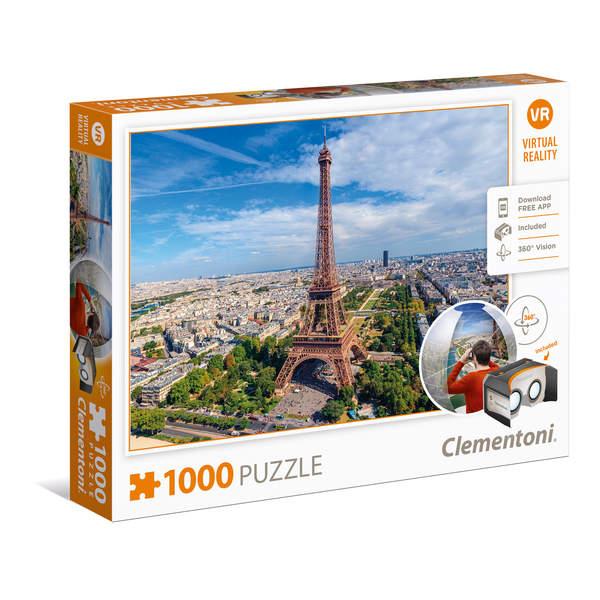 Puzzle Virtual Reality 1000 pièces Paris