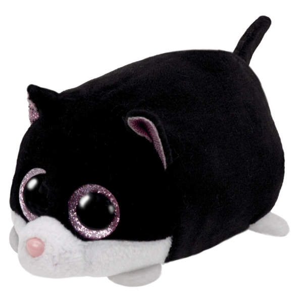 Teeny Tys-Peluche Cara le chat 8 cm