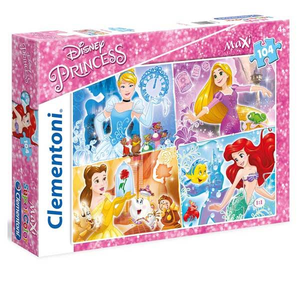 Puzzle 104 pièces Princesses Disney