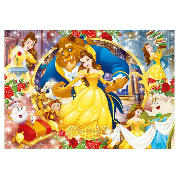 Puzzle 60 pièces La Belle et la Bête