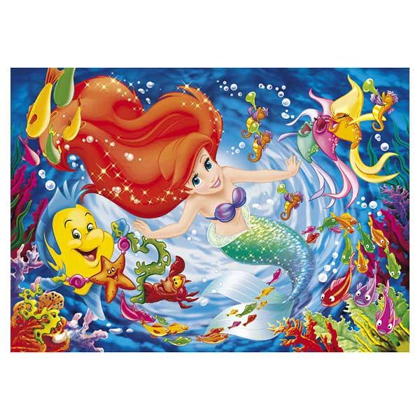 La Petite Sirène Puzzle 104 pièces