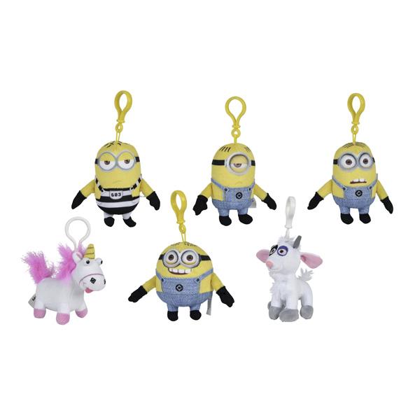 Moi, Moche et Méchant 3 -  Porte clés Minions 11 cm