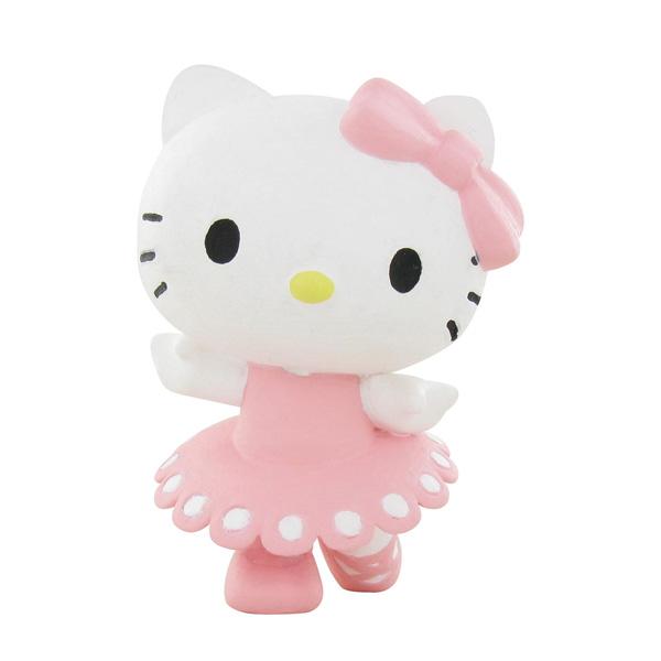 Figurine Hello Kitty danse 6 cm