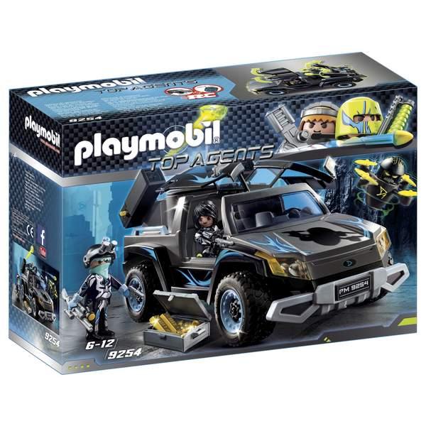 9254-4x4 des agents du Dr. Drone Playmobil Top Agents