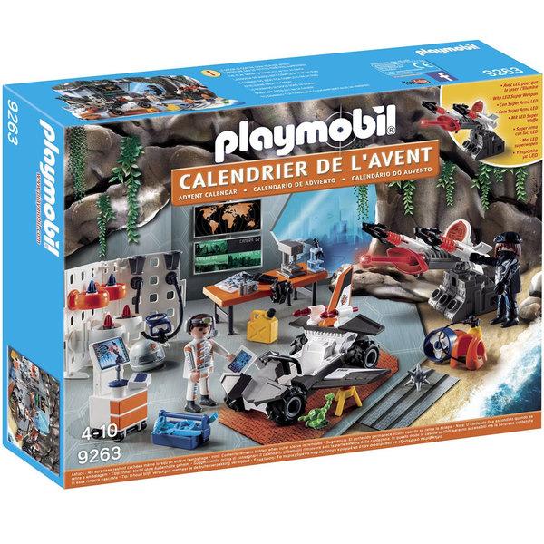 9263 - Calendrier de l'Avent Tops Agents - Playmobil