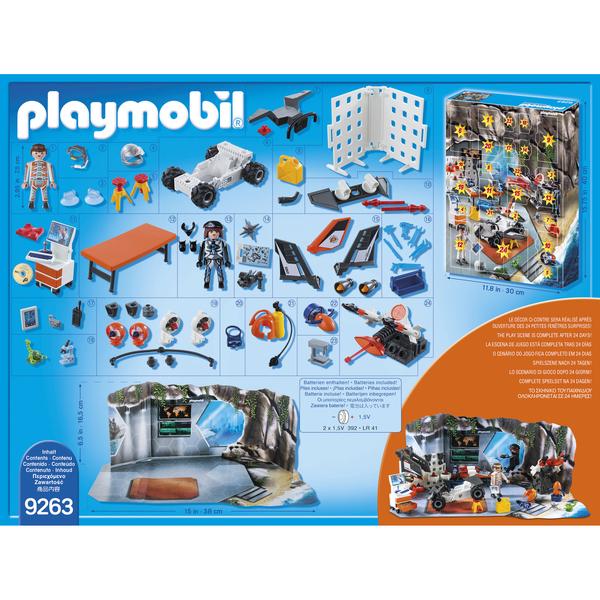 9263 - Playmobil Calendrier de l