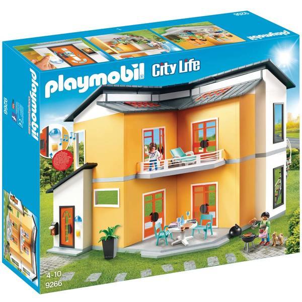 9266-Playmobil City Life-Maison moderne