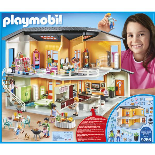 9266-Playmobil City Life-Maison moderne Playmobil : King Jouet ...