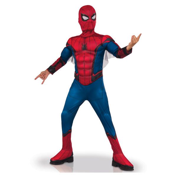 Déguisement Spiderman luxe 7/8 ans