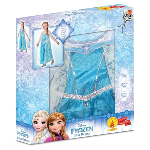 Déguisement luxe Reine des Neiges Elsa 3/4 ans