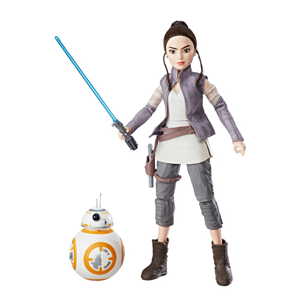 Star Wars Destiny- Poupée REY et BB-8