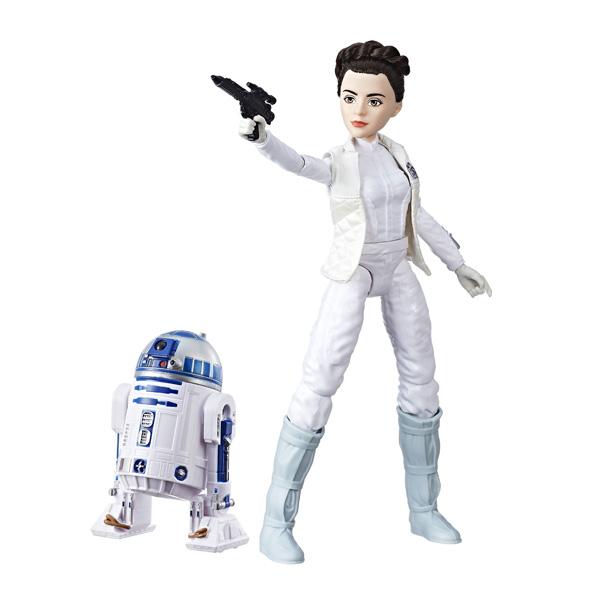 Star Wars Destiny - Poupée Leia et R2-D2