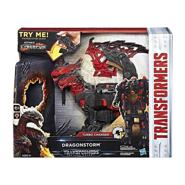 Transformers 5 - Turbo Changer Feature Dragonstorm