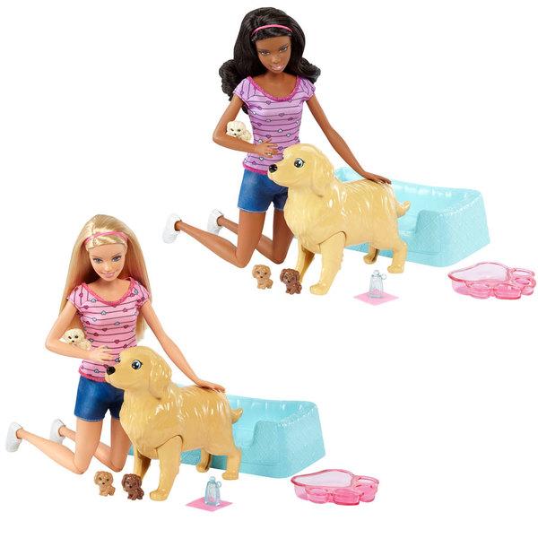 Barbie naissance des chiots