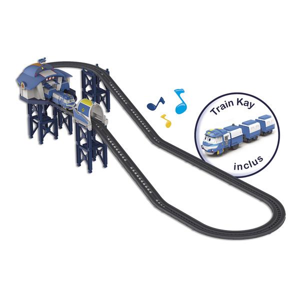 Circuit Robots Train - La Base de Kay