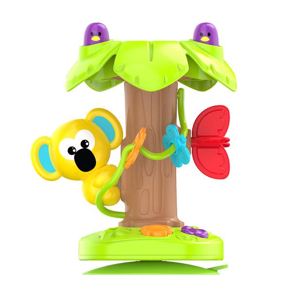 Jeu d'éveil avec ventouse koala et son arbre