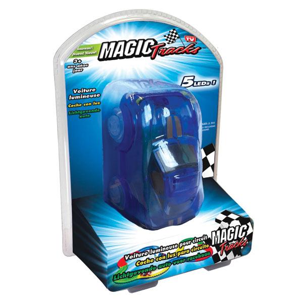 Voiture bleue pour circuit Magic Tracks