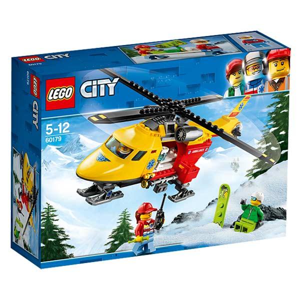 LegoKing City 60179 Jouet L'hélicoptère Ambulance Lego® dxsCtQhr