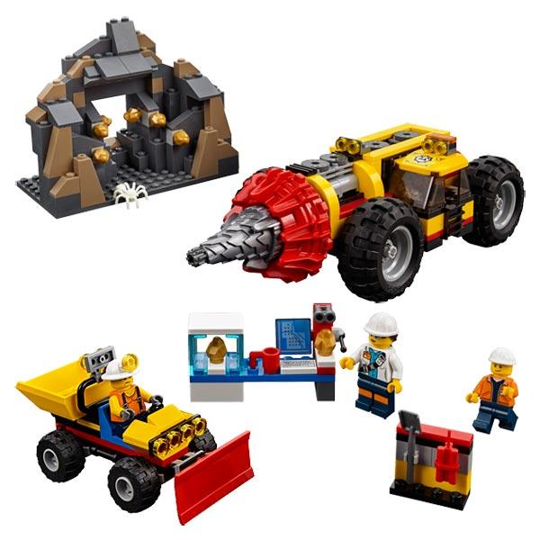 60186 - LEGO® CITY - La foreuse du minerai