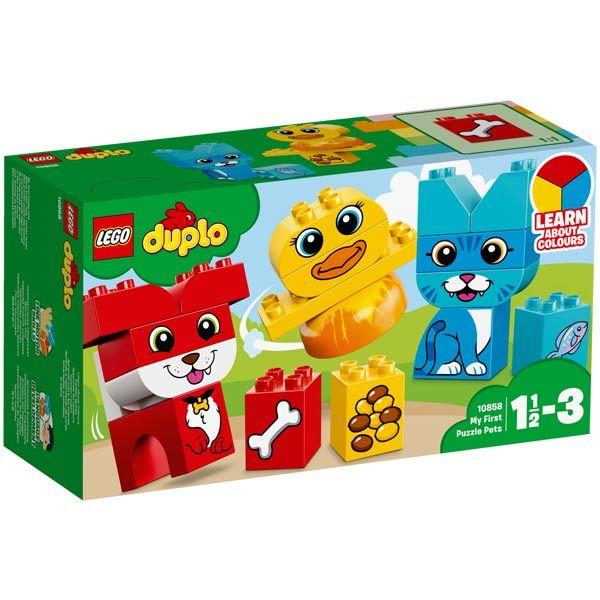 10858-LEGO® Mon premier puzzle des animaux