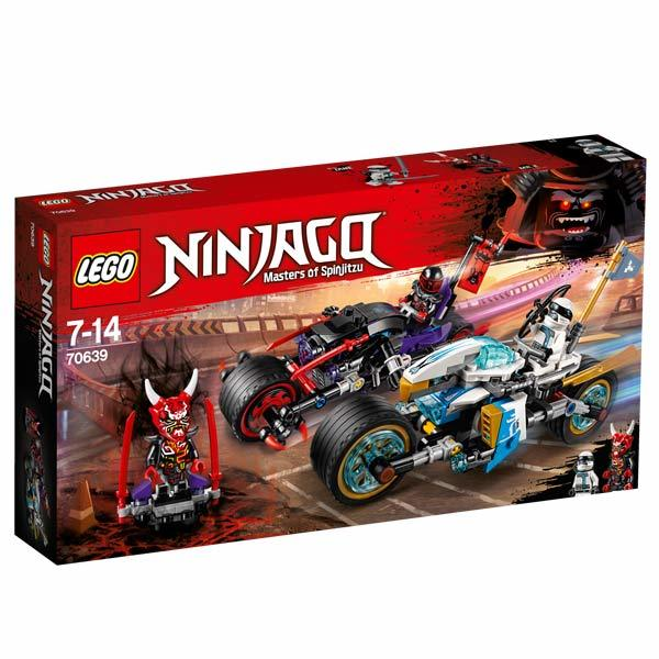 70639 - LEGO® NINJAGO - La course de rues en motos