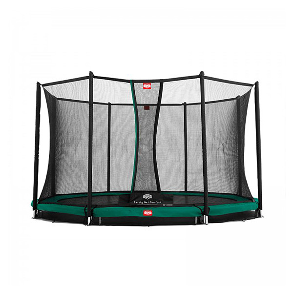 Trampoline InGround Champion 330 vert avec filet Comfort