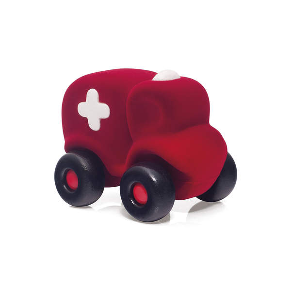 Ambulance rouge en mousse
