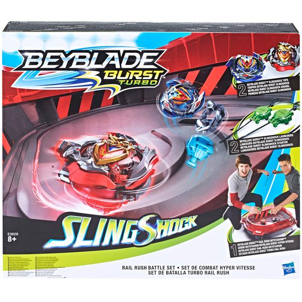 Beyblade Burst Turbo Slingshock-Set de combat hyper vitesse