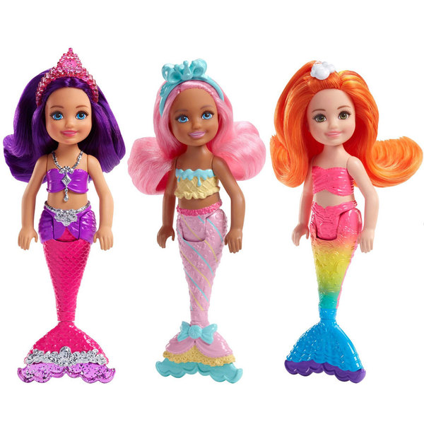 Barbie-Poupée Chelsea petite sirène