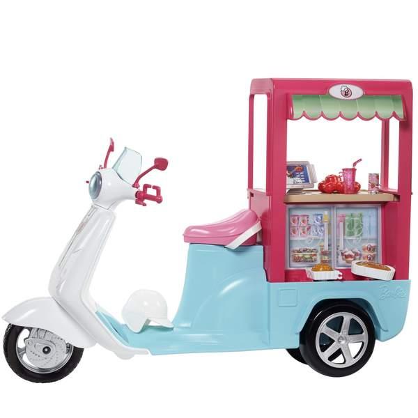 Barbie scooter bistrot