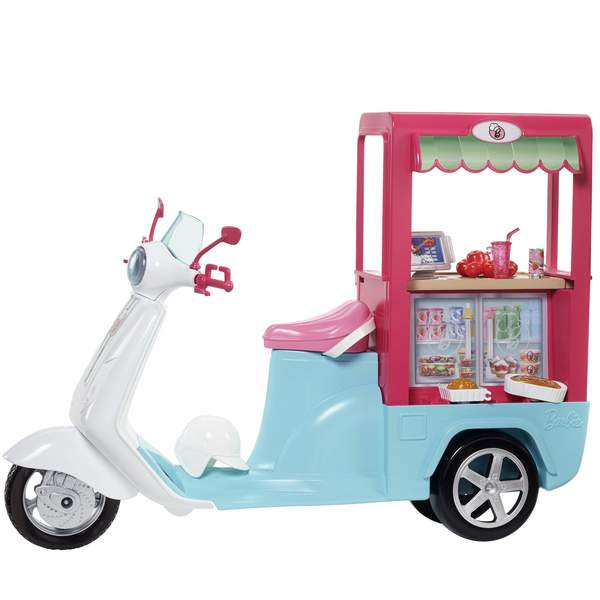 Barbie scooter bistrot
