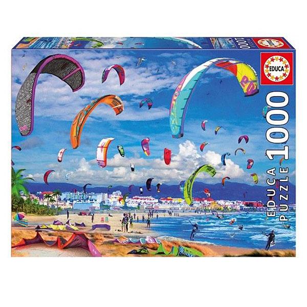 Puzzle 1000 pièces Kitesurfing