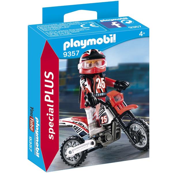9357 - Pilote de motocross Playmobil Action