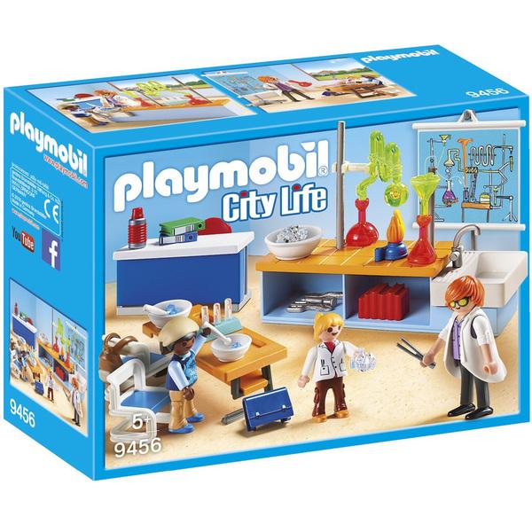9456 Playmobil City Physique De LifeKing Chimie Classe MpUVSz