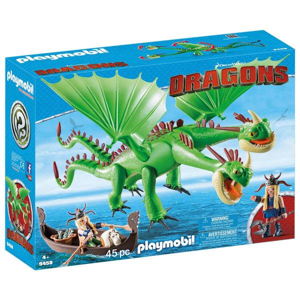 9458 - Playmobil Dragons - Kognedur et Kranedur Pète Prout