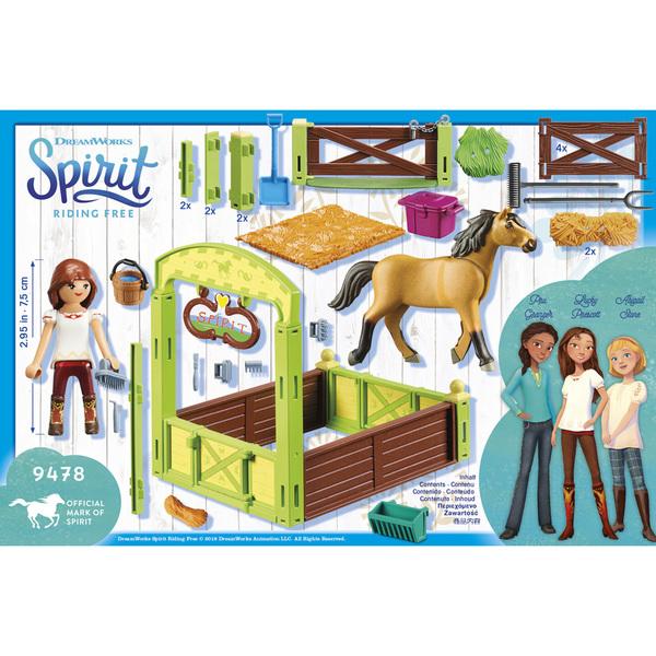 9478 - Playmobil Spirit - Lucky et Spirit avec box