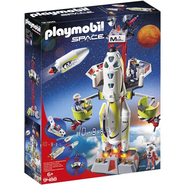 9488-Fusée Mars avec plateforme Playmobil Space