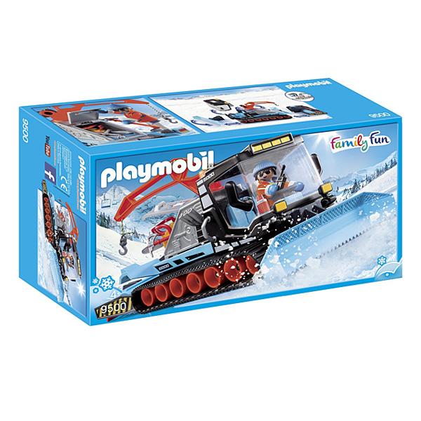9500-Chasse-neige avec agent Playmobil Family Fun