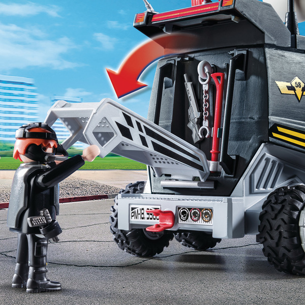 9360 - Playmobil City Action - Camion des policiers d