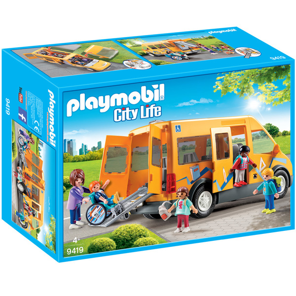 9419-Playmobil City Life-Bus scolaire