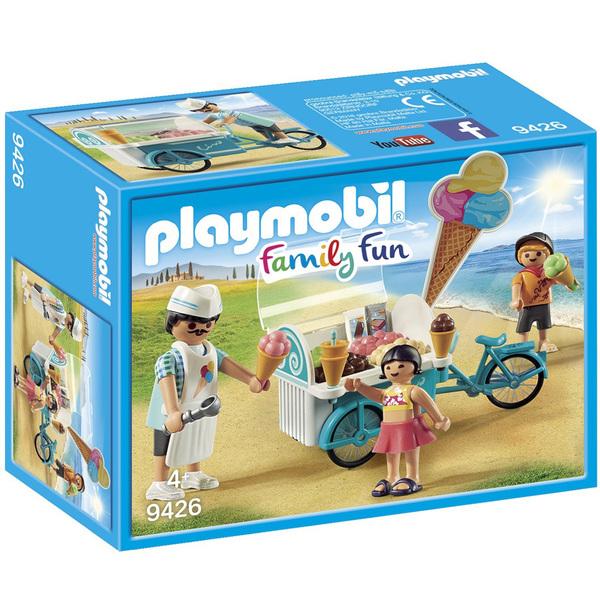 9426-Marchand de glaces et triporteur Playmobil Family Fun